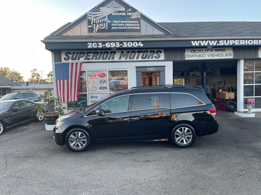 Used 2015 Honda Odyssey TOURING in Milford, Connecticut   Superior Motors LLC. Milford, Connecticut