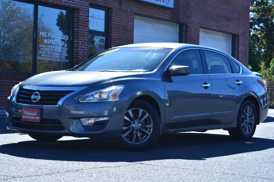 Used 2015 Nissan Altima in ENFIELD, Connecticut | Longmeadow Motor Cars. ENFIELD, Connecticut