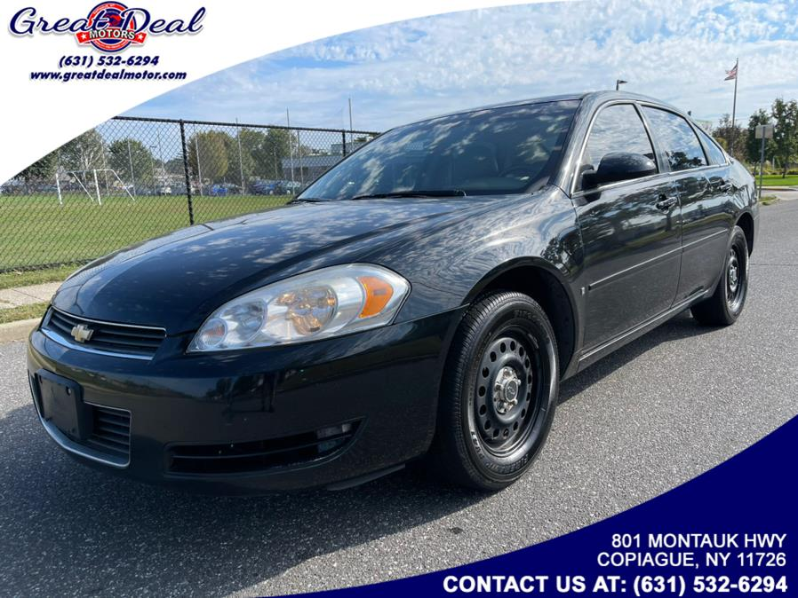 Used 2008 Chevrolet Impala Police in Copiague, New York | Great Deal Motors. Copiague, New York