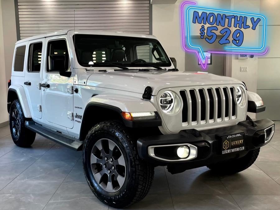 Used Jeep Wrangler Unlimited Sahara 4x4 2018 | C Rich Cars. Franklin Square, New York