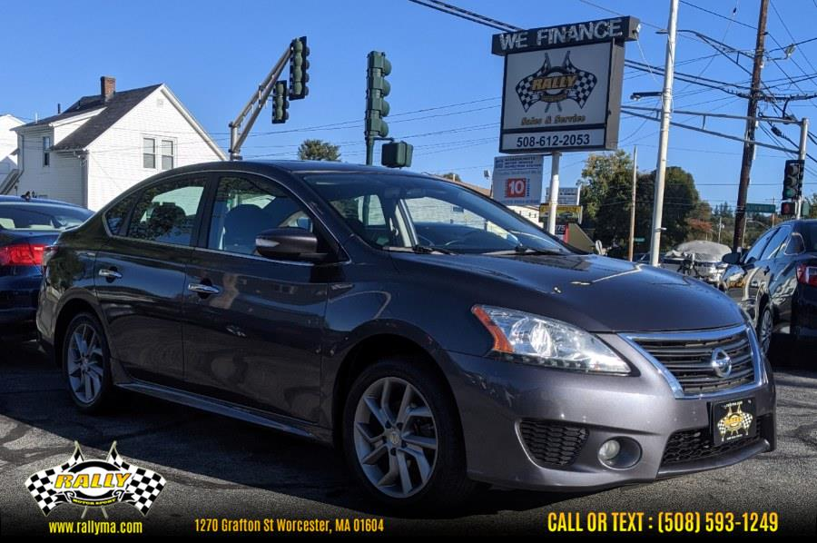 Used 2015 Nissan Sentra in Worcester, Massachusetts | Rally Motor Sports. Worcester, Massachusetts