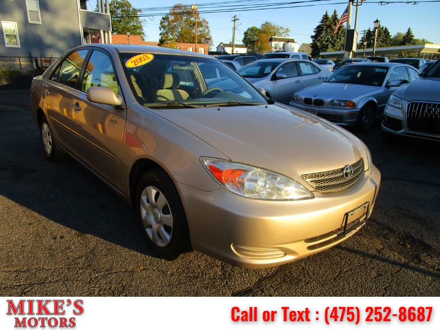 Used 2003 Toyota Camry in Stratford, Connecticut | Mike's Motors LLC. Stratford, Connecticut