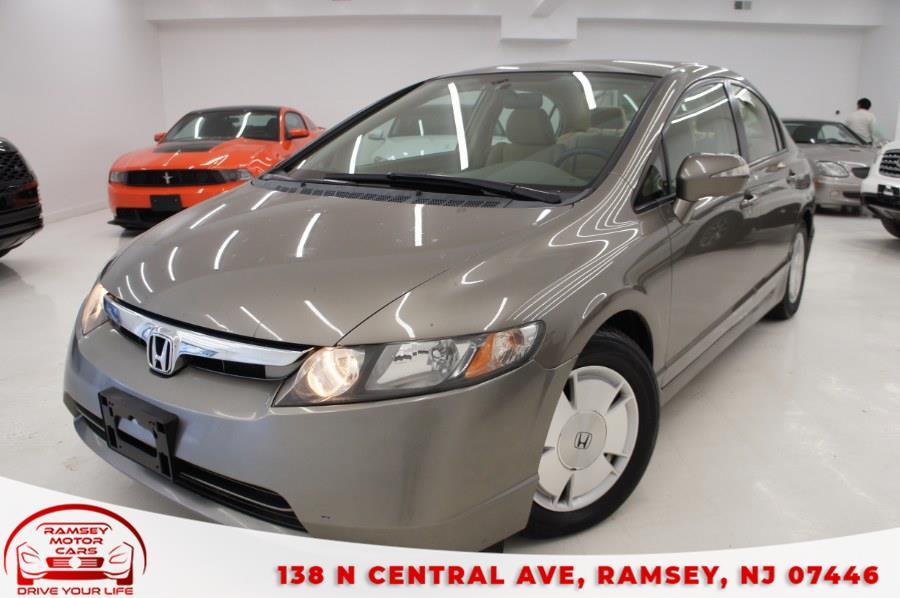 Used 2007 Honda Civic Hybrid in Ramsey, New Jersey | Ramsey Motor Cars Inc. Ramsey, New Jersey