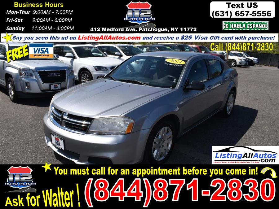 Used 2013 Dodge Avenger in Patchogue, New York   www.ListingAllAutos.com. Patchogue, New York