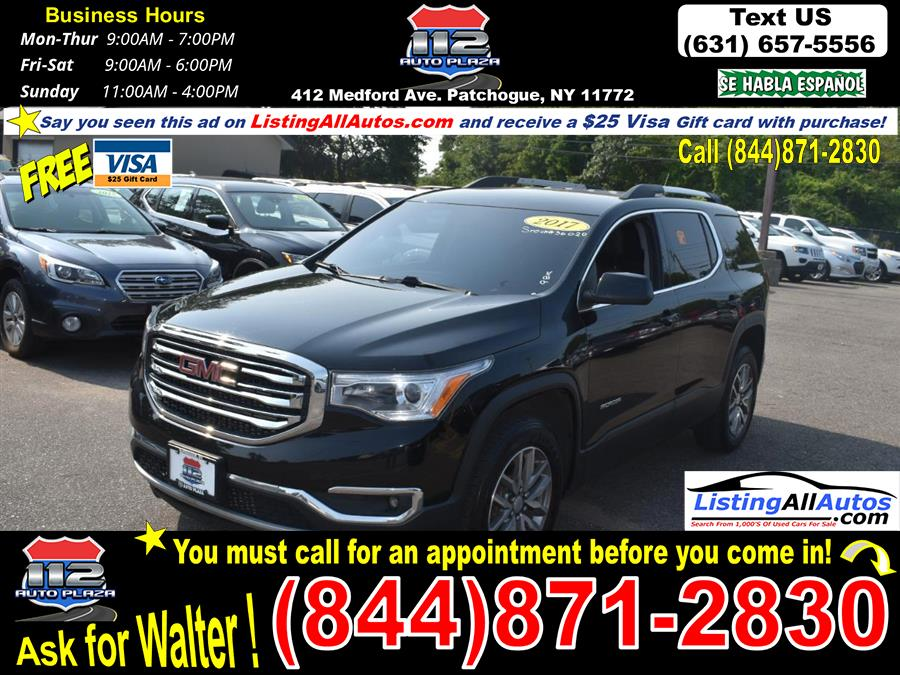 Used 2017 GMC Acadia in Patchogue, New York   www.ListingAllAutos.com. Patchogue, New York