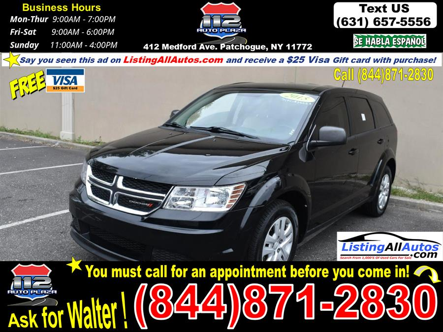 Used 2015 Dodge Journey in Patchogue, New York   www.ListingAllAutos.com. Patchogue, New York