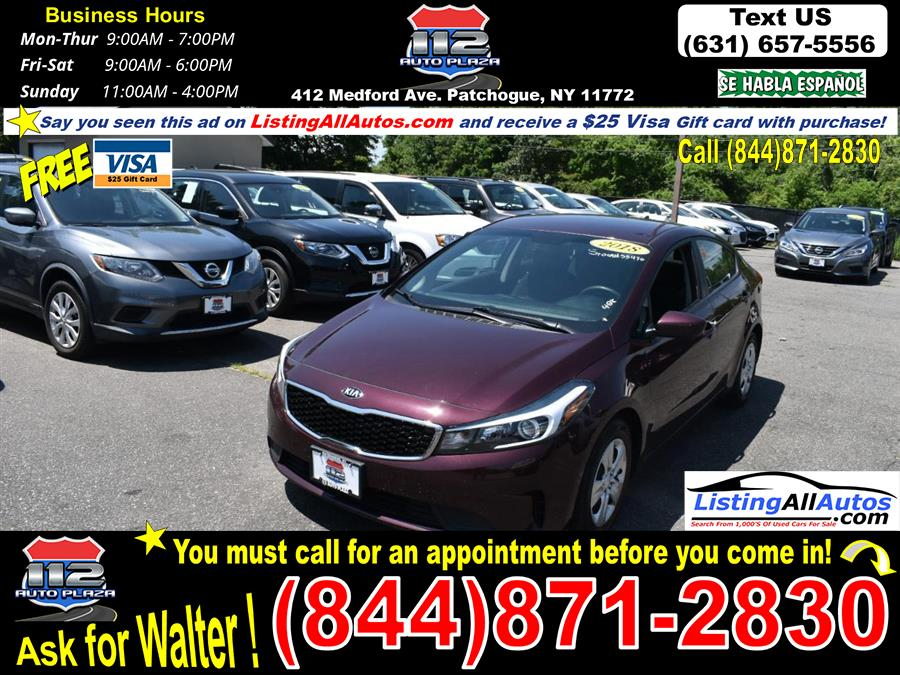 Used 2018 Kia Forte in Patchogue, New York | www.ListingAllAutos.com. Patchogue, New York
