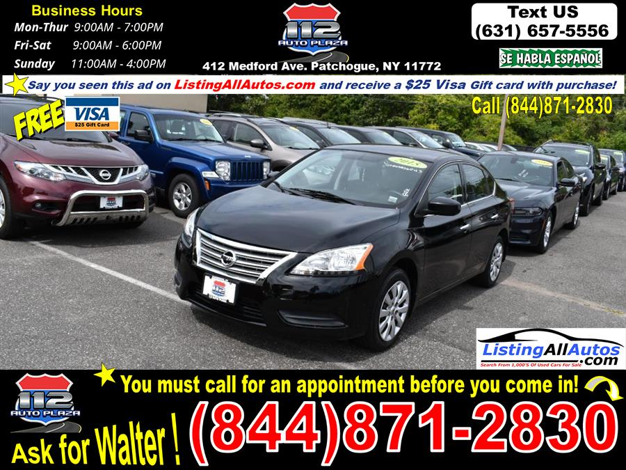 Used 2015 Nissan Sentra in Patchogue, New York   www.ListingAllAutos.com. Patchogue, New York