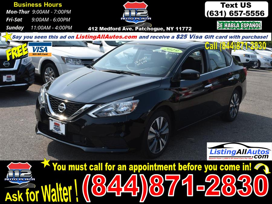 Used 2019 Nissan Sentra in Patchogue, New York   www.ListingAllAutos.com. Patchogue, New York