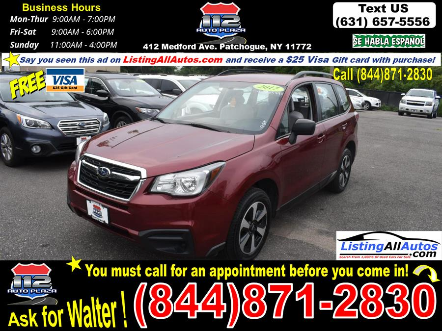 Used 2017 Subaru Forester in Patchogue, New York | www.ListingAllAutos.com. Patchogue, New York