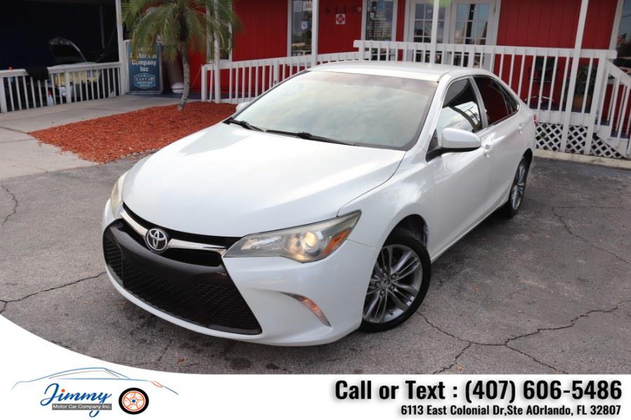 Used Toyota Camry 4dr Sdn I4 Auto SE (Natl) 2015 | Jimmy Motor Car Company Inc. Orlando, Florida