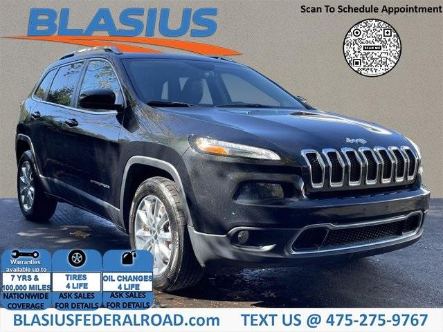 Used Jeep Cherokee Limited 2016 | Blasius Federal Road. Brookfield, Connecticut