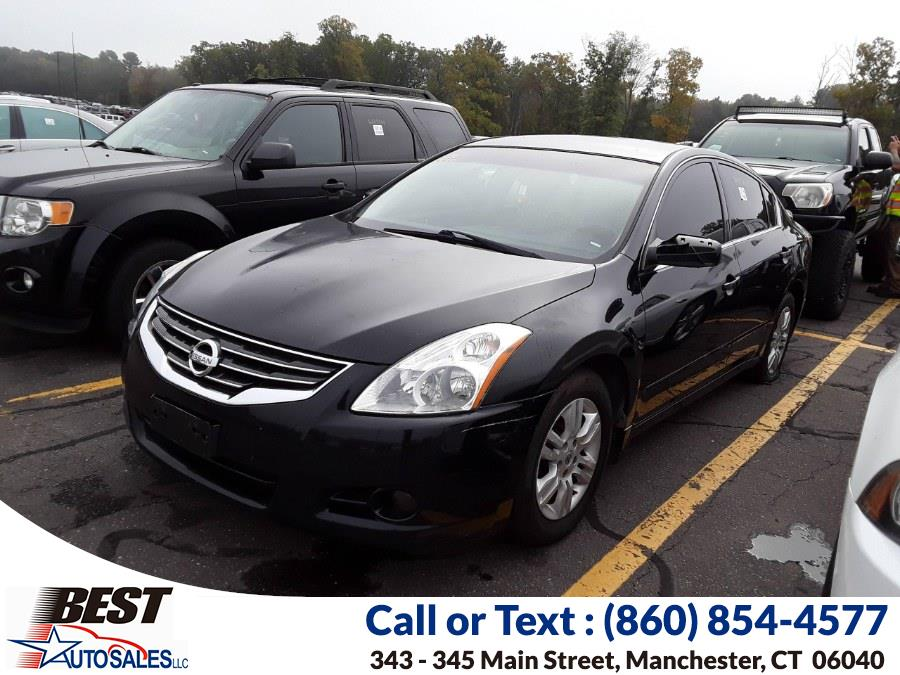 Used Nissan Altima 4dr Sdn I4 CVT 2.5 S 2012 | Best Auto Sales LLC. Manchester, Connecticut