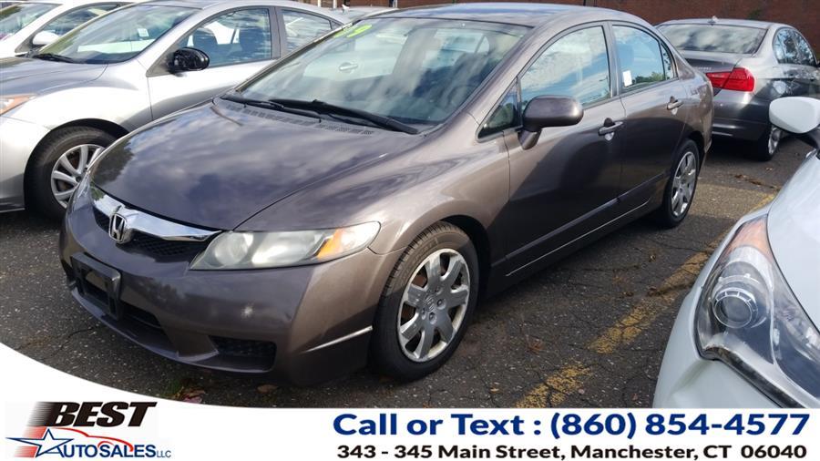 Used Honda Civic Sdn 4dr Auto LX 2009 | Best Auto Sales LLC. Manchester, Connecticut