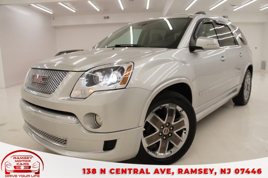 Used 2012 GMC Acadia in Ramsey, New Jersey   Ramsey Motor Cars Inc. Ramsey, New Jersey