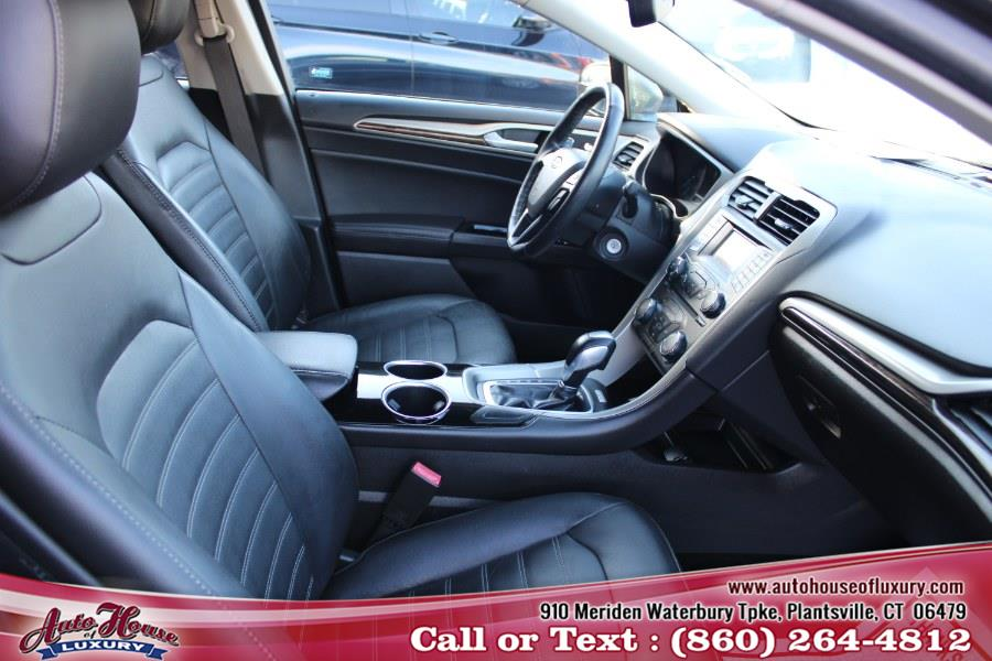 Used Ford Fusion 4dr Sdn SE FWD 2013   Auto House of Luxury. Plantsville, Connecticut
