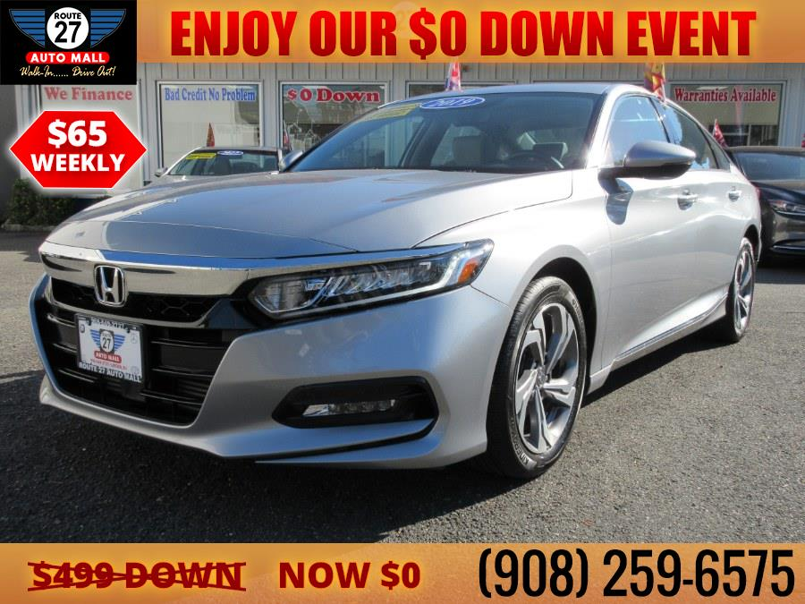 Used 2019 Honda Accord Sedan in Linden, New Jersey   Route 27 Auto Mall. Linden, New Jersey