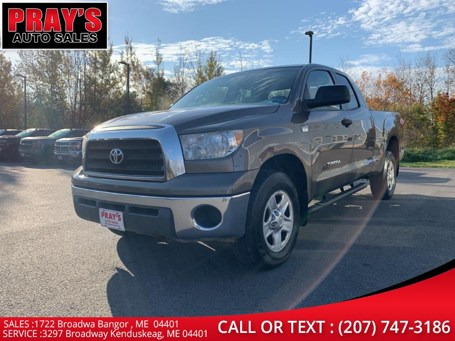 "Used Toyota Tundra 4WD Double 145.7"" 4.7L V8 SR5 (Natl 2007 | Pray's Auto Sales . Bangor , Maine"