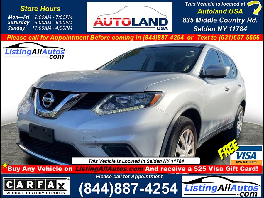 Used 2016 Nissan Rogue in Patchogue, New York   www.ListingAllAutos.com. Patchogue, New York