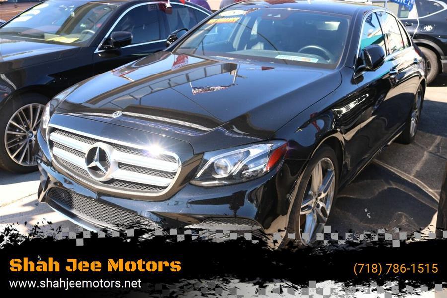 Used Mercedes-benz E-class E 300 4MATIC AWD 4dr Sedan 2018 | SJ Motors. Woodside, New York