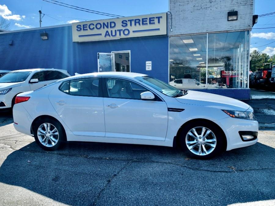 Used Kia Optima 4dr Sdn 2.4L Auto EX 2012 | Second Street Auto Sales Inc. Manchester, New Hampshire
