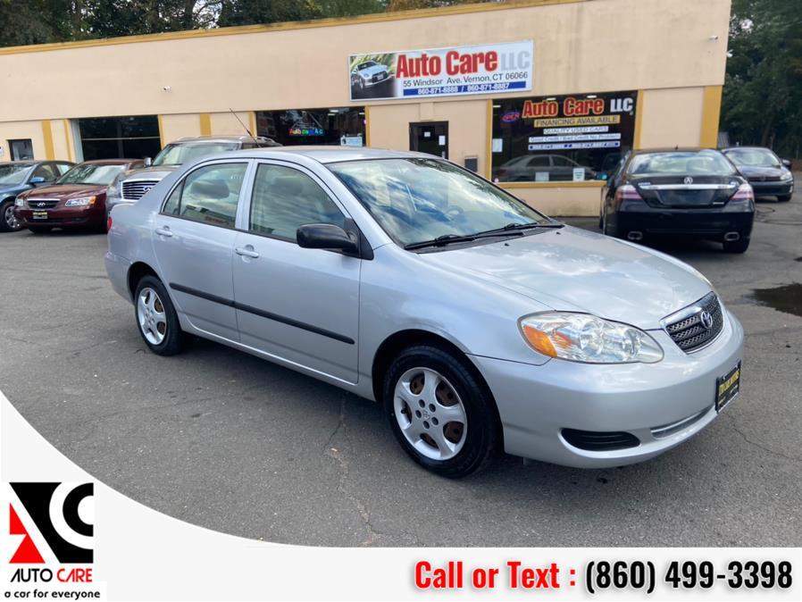 Used 2007 Toyota Corolla in Vernon , Connecticut | Auto Care Motors. Vernon , Connecticut