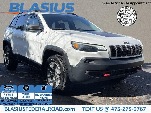 Used Jeep Cherokee Trailhawk 2019 | Blasius Federal Road. Brookfield, Connecticut