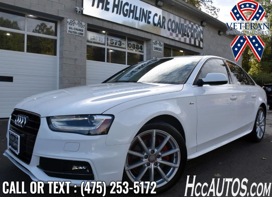 Used 2015 Audi A4 in Waterbury, Connecticut | Highline Car Connection. Waterbury, Connecticut