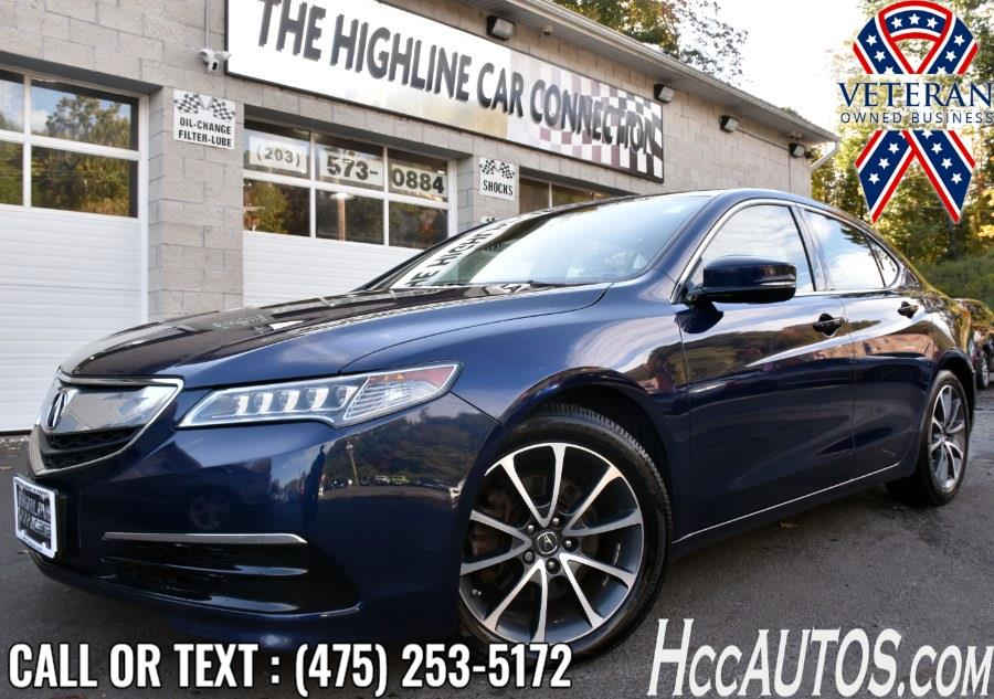 Used 2015 Acura TLX in Waterbury, Connecticut   Highline Car Connection. Waterbury, Connecticut