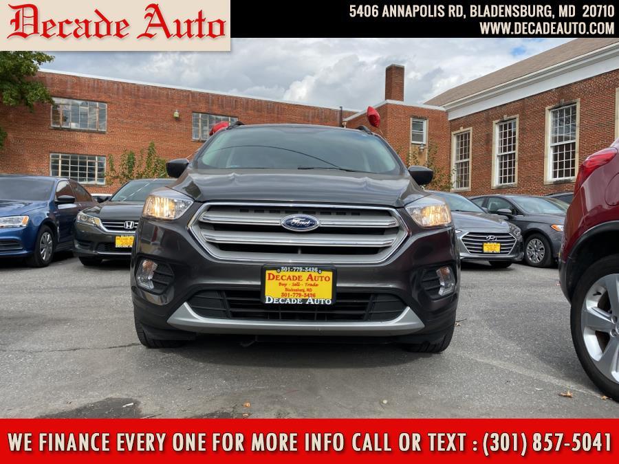 Used Ford Escape SE FWD 2018 | Decade Auto. Bladensburg, Maryland