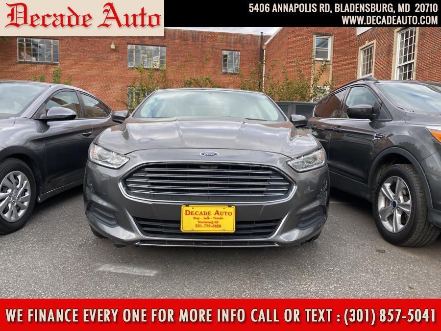 Used Ford Fusion 4dr Sdn S FWD 2014   Decade Auto. Bladensburg, Maryland