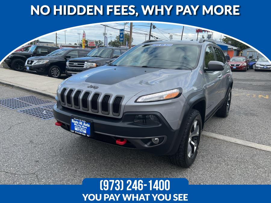 Used Jeep Cherokee 4WD 4dr Trailhawk 2014 | Route 46 Auto Sales Inc. Lodi, New Jersey