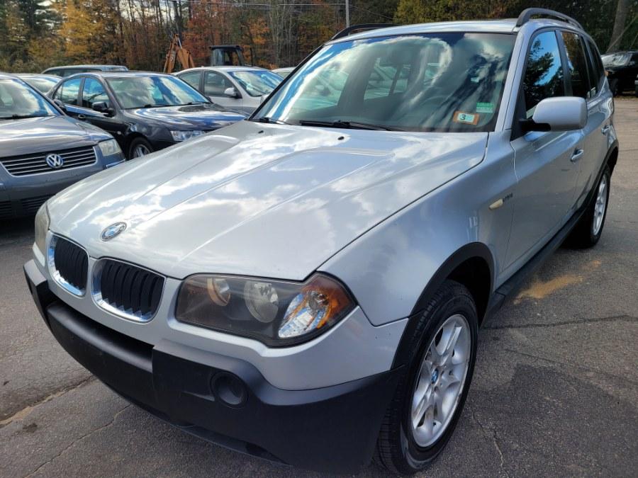 Used BMW X3 X3 4dr AWD 2.5i 2005   ODA Auto Precision LLC. Auburn, New Hampshire