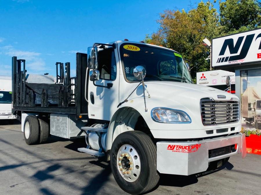 Used Freightliner M2 106 20 FEET FLAT BED + LIFT GATE + CUMMINS ENGINE 2010 | NJ Truck Spot. South Amboy, New Jersey