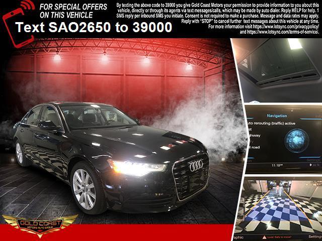 Used Audi A6 4dr Sdn quattro 2.0T Premium Plus 2014 | Sunrise Auto Outlet. Amityville, New York