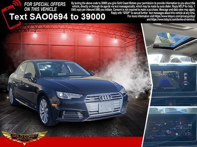 Used Audi A4 2.0 TFSI Tech Premium S Tronic quattro AWD 2018 | Sunrise Auto Outlet. Amityville, New York