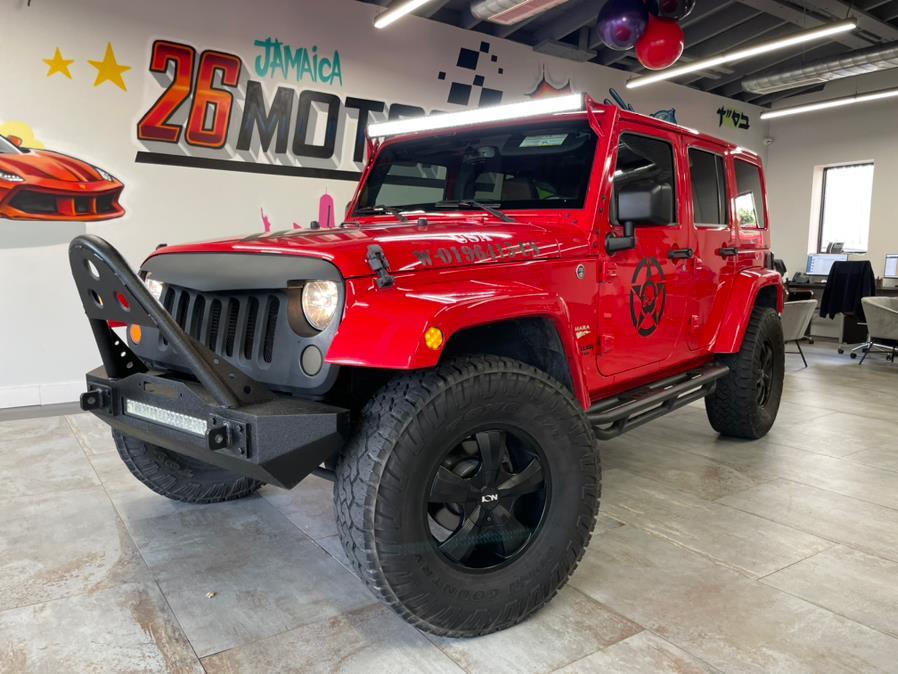 Used 2015 Jeep Wrangler Unlimited Sahara in Hollis, New York | Jamaica 26 Motors. Hollis, New York