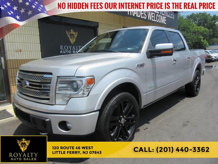"""Used Ford F-150 4WD SuperCrew 145"""" Limited 2014 