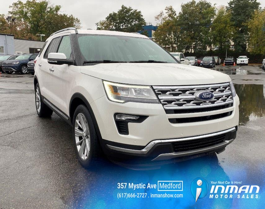 Used Ford Explorer Limited FWD 2019   Inman Motors Sales. Medford, Massachusetts