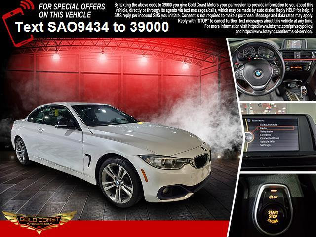 Used BMW 4 Series 2dr Conv 428i xDrive AWD 2014 | Sunrise Auto Outlet. Amityville, New York