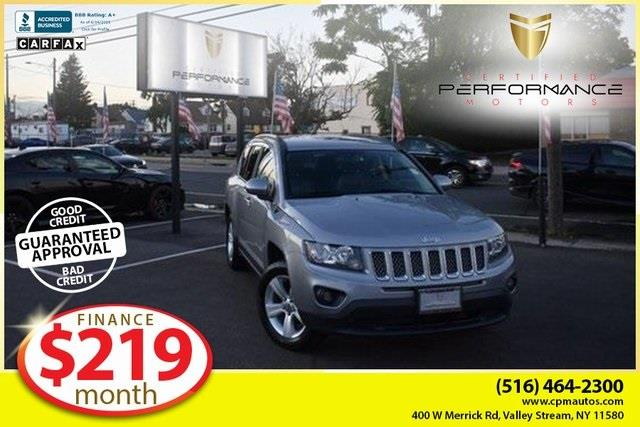 Used 2016 Jeep Compass in Valley Stream, New York   Certified Performance Motors. Valley Stream, New York