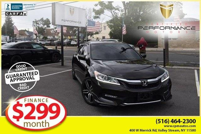 Used Honda Accord Sport Special Edition 2017 | Certified Performance Motors. Valley Stream, New York