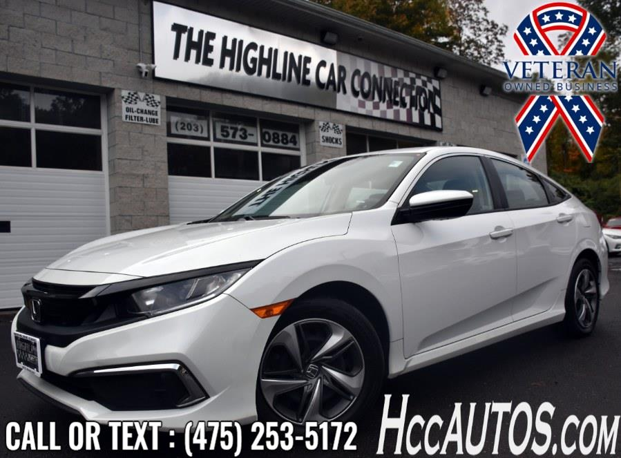 Used Honda Civic Sedan LX CVT 2019 | Highline Car Connection. Waterbury, Connecticut