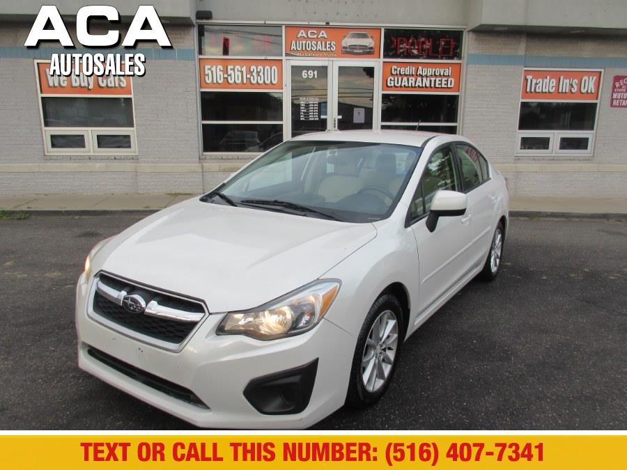 Used Subaru Impreza Sedan 4dr Auto 2.0i Premium 2012 | ACA Auto Sales. Lynbrook, New York