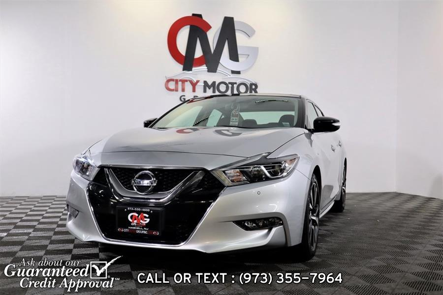 Used Nissan Maxima  2016   City Motor Group Inc.. Haskell, New Jersey