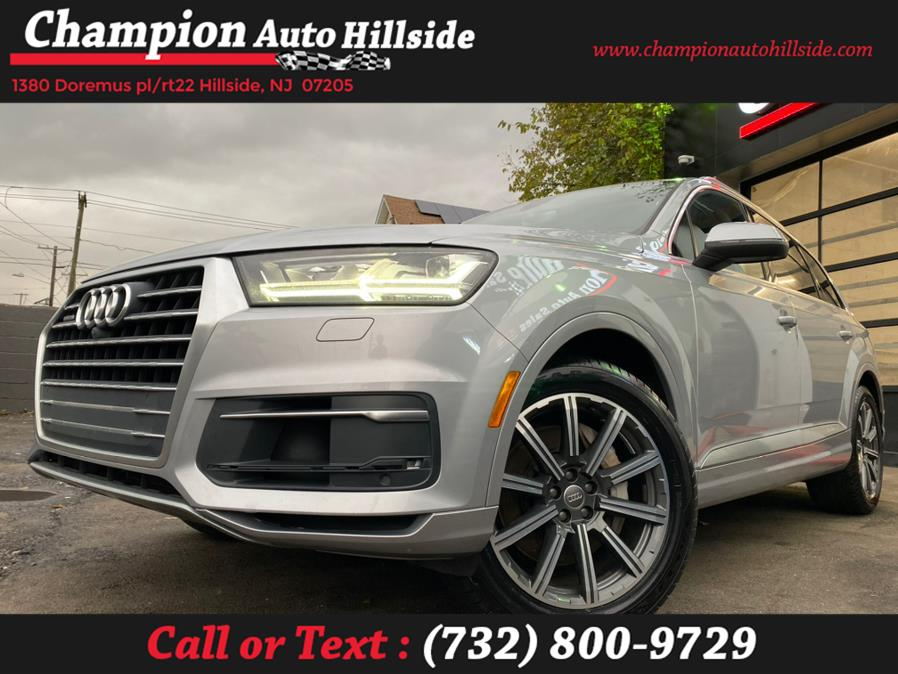 Used 2017 Audi Q7 in Hillside, New Jersey | Champion Auto Hillside. Hillside, New Jersey