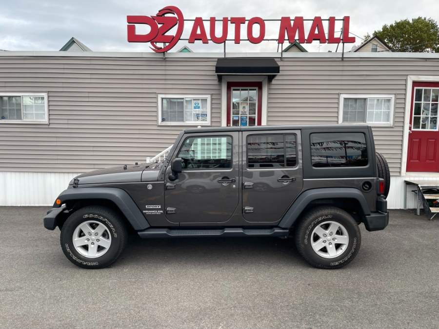 Used Jeep Wrangler Unlimited Sport 4x4 2017 | DZ Automall. Paterson, New Jersey
